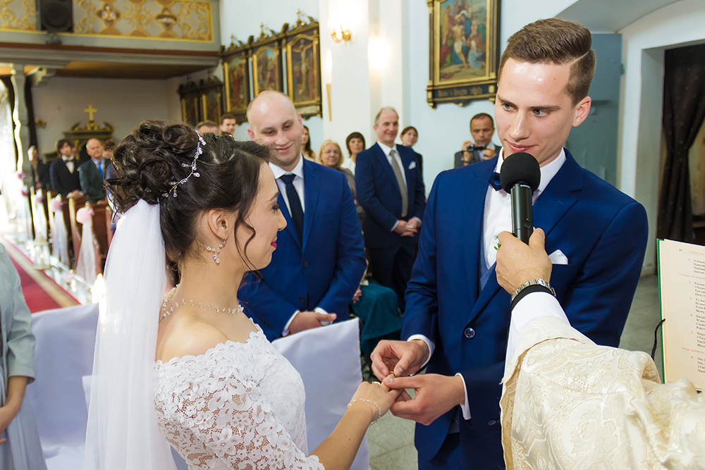 fotografia ślubna Trzebnica