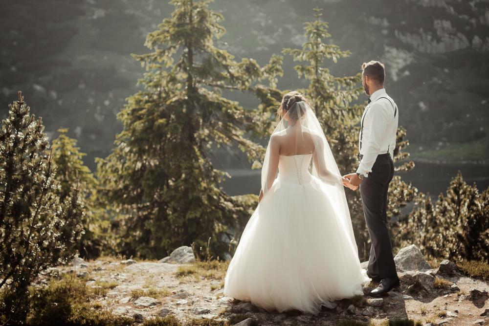 sesja ślubna góry